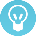 Icon of a lightbulb